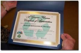 Greener Florence 2015 Certificate